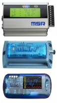 MSR Data Loggers for Acceleration, Temperature, RH, Pressure, Light, Voltage