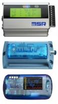 MSR Data Loggers for Acceleration, Temperature, RH, Pressure, Light, Voltage
