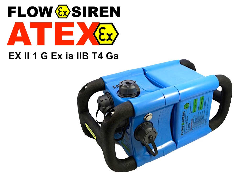 Blue Siren Data Loggers for Open Channel Flow, Pressure & Water Quality