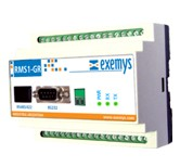 RMS1-GR Digital and Analog I/O in Modbus Serial