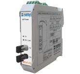 MCV1 - FO - SER Industrial Fiber Optic to Serial Converter