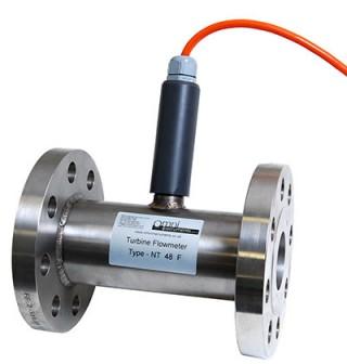 NT Stainless Steel Turbine Flow Meters for clean liquids