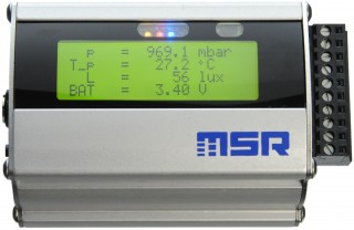 MSR255 Data logger with LCD screen