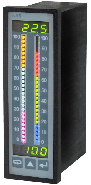 Multi-Colour 2 Channel Bargraph Display.