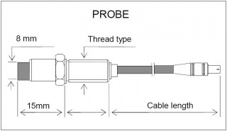 PRR04 Eddy Current Probe