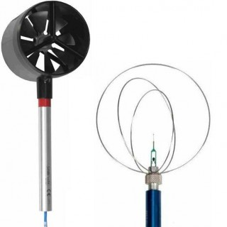 SCS Calibration for Vane and Thermoelectric Anemometers