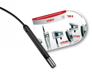 HC2-WIN-USB HygroWin Temp & RH Probe