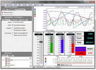 BMCM NEXTView Measurement Software for Data Acquisition & Analysis