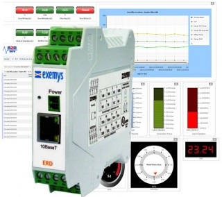 ERD Ethernet Data Logger