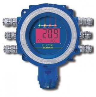 OLCT80 Standalone Fixed Gas Detector with Intrinsically Safe Sensors