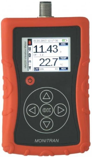 VM220 & VM330D Portable Vibration Meters