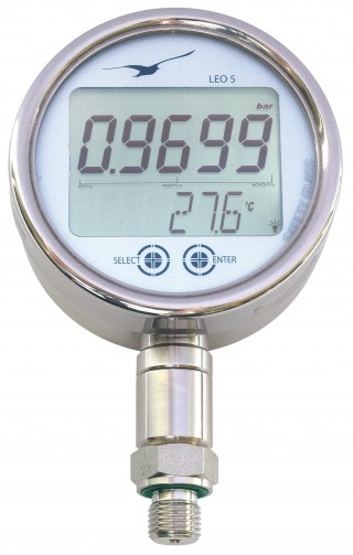 LEO 5 Digital Manometer with Data Logger