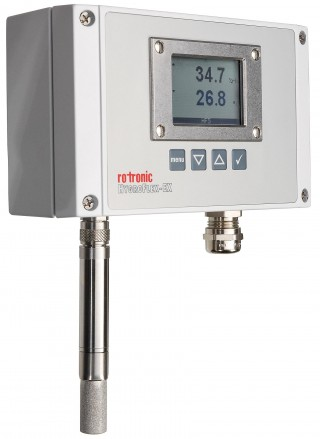 HF5-EX Series Temperature & Humidity Transmitters for Hazardous Area Installations