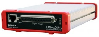 BMCM Network DAQ System for LAN Networks (TCP/IP) - LAN-AD16fx