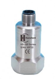 HS-100 Series - Top Entry Industrial Accelerometer