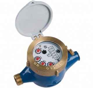 Multi-Jet Water Meter (Cold) Dry Dial