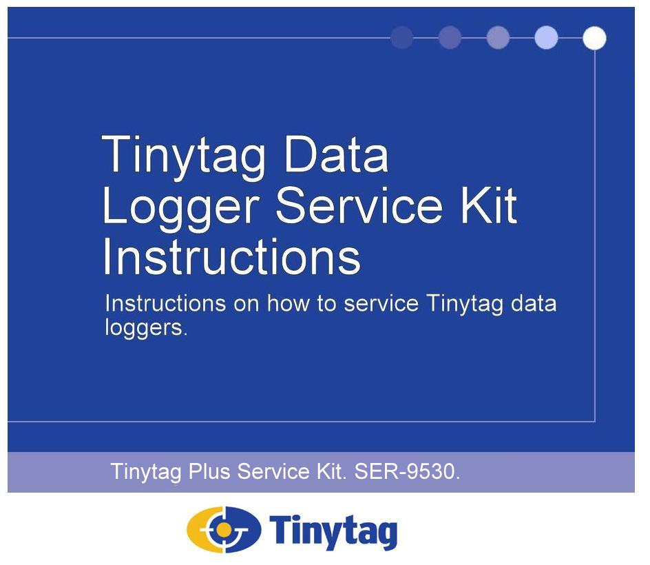 The SER-9500 Service Kit for Tinytag Data Loggers