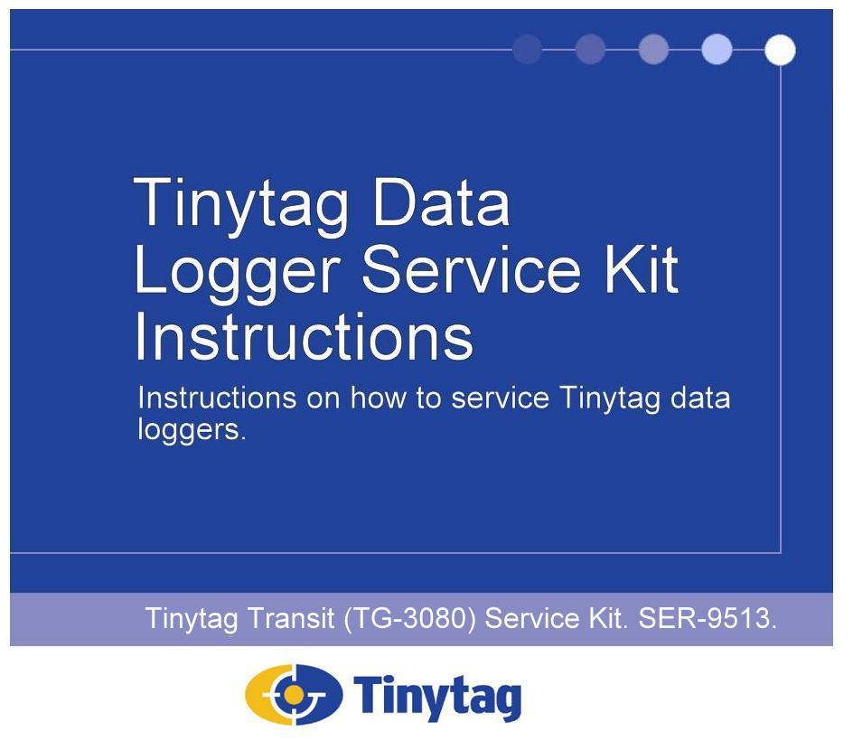 SER-9513 Tinytag Transit Service Kit