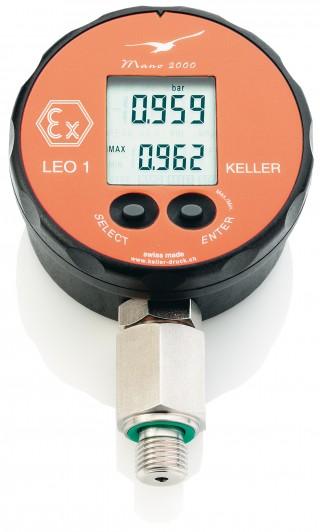 Keller Leo 1 Digital Pressure Gauge With Fast Peak