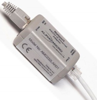 NetPort Serial-to-Ethernet Cable Adaptor