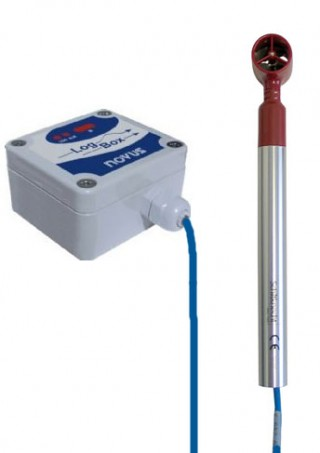 Portable Flow Meter for Open Channel Flow Measurement