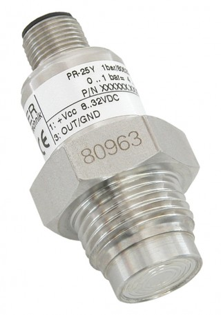 Keller Series 25Y Flush Diaphragm Temperature Compensated Pressure Transmitter