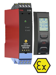 9106B ATEX Approved HART Transparent Repeater