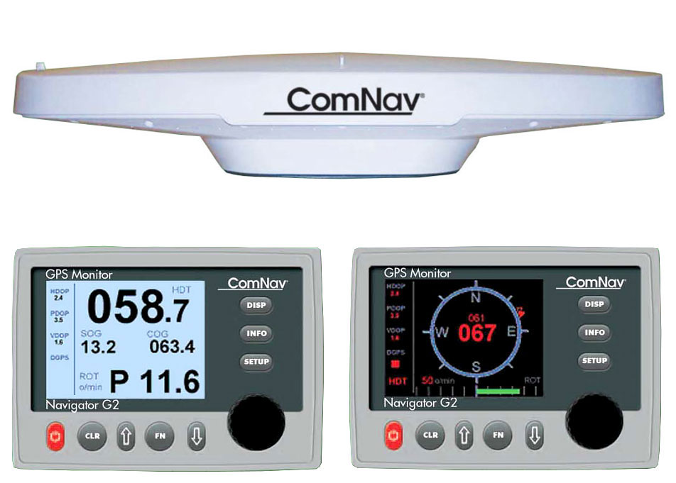 ComNav G2 GNSS Satellite Compass with G2 Navigator Display