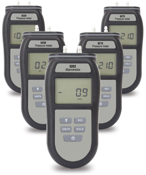 9200 Series Handheld Differential Pressure Meter