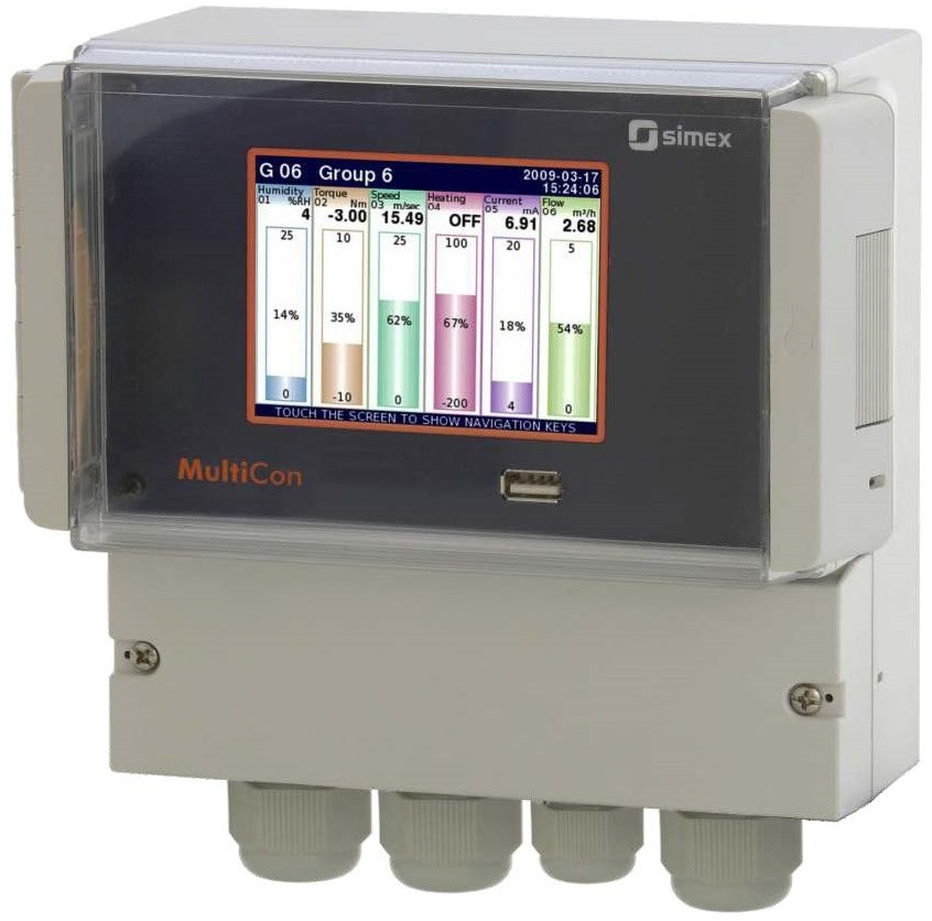 CMC-N16 Multichannel Display Data Logger
