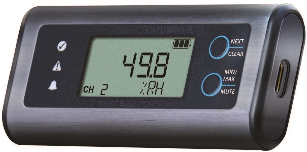 EL-SIE USB Data Logger for Temperature, RH and Pressure
