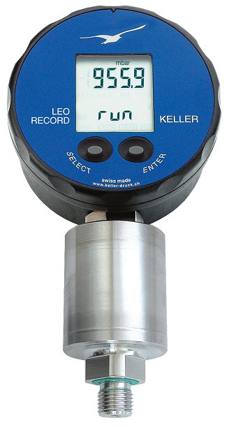 Keller LEO Record CAPO Digital Manometer