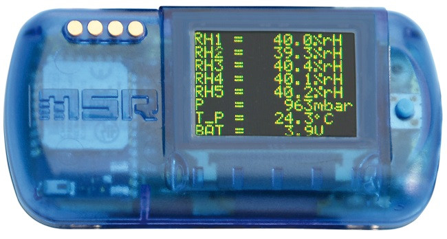 MSR147WD Low Power BLE Bluetooth Data Logger