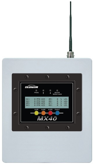 MX40 Controller for BM25 Wireless Gas Detectors