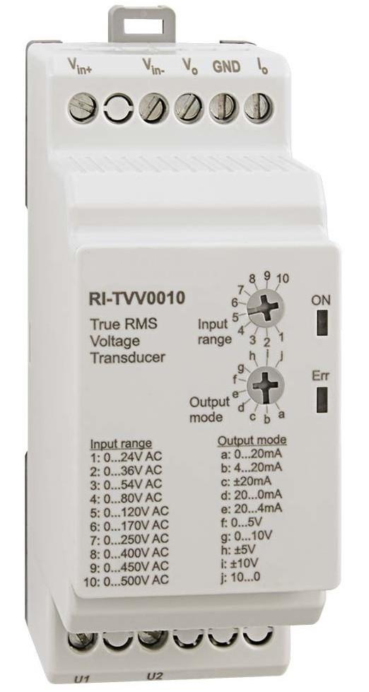 RI-TV Series Isolated Voltage Transducer