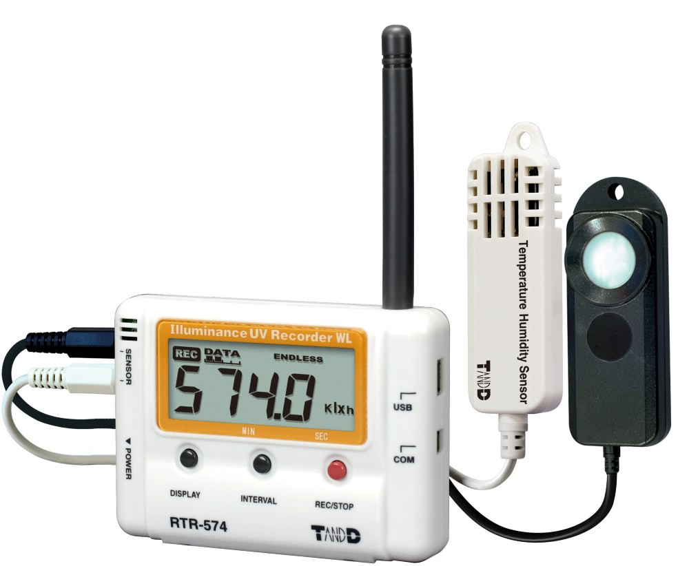 Wireless Light, Humidity & Temperature Data Logger