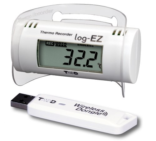 Log-Ez T and D Wireless Temperature & Humidity Kit