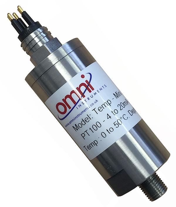 Subsea Temperature Sensor 4-20mA Output