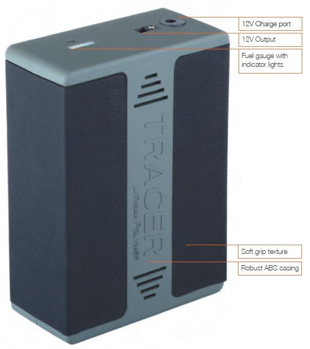 Tracer 12V Lithium Polymer Battery