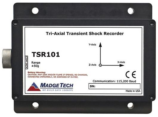 TSR101 Tri-Axial Transient Shock Recorder