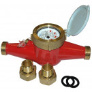 Hot Water Multi-Jet Flow Meter, up to 90°C