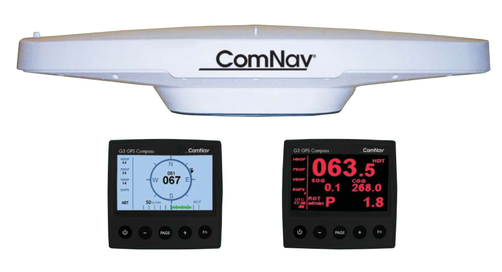ComNav G1 GNSS Satellite Compass with G3 Display NMEA2000 O/P