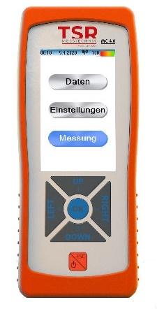 MC 4.0 Junior Multiprobe Anemometer Display