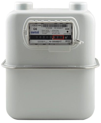 Metrix MID Approved Gas Meter