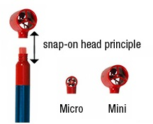 MiniWater Replacement Snap Heads