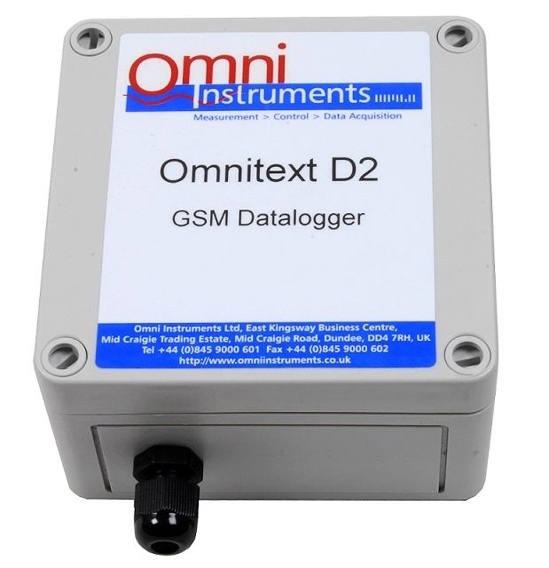 OmniText D2 GSM Data Logger