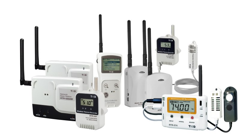 RTR Wireless Data Logger Range