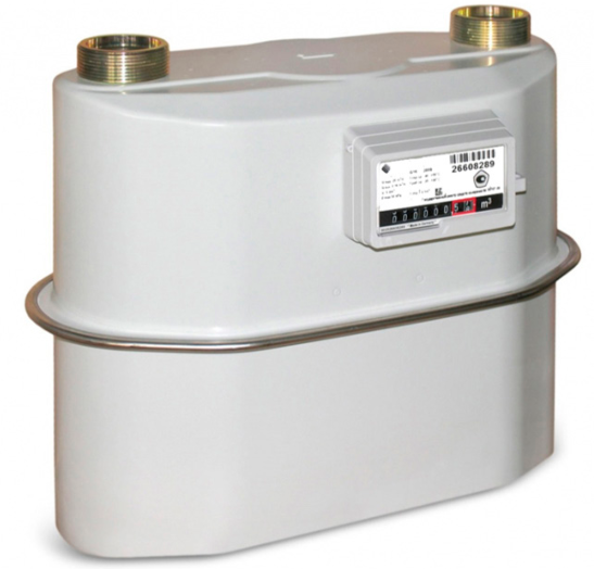 G6 Diaphragm Gas FLow Meter - MID Approved