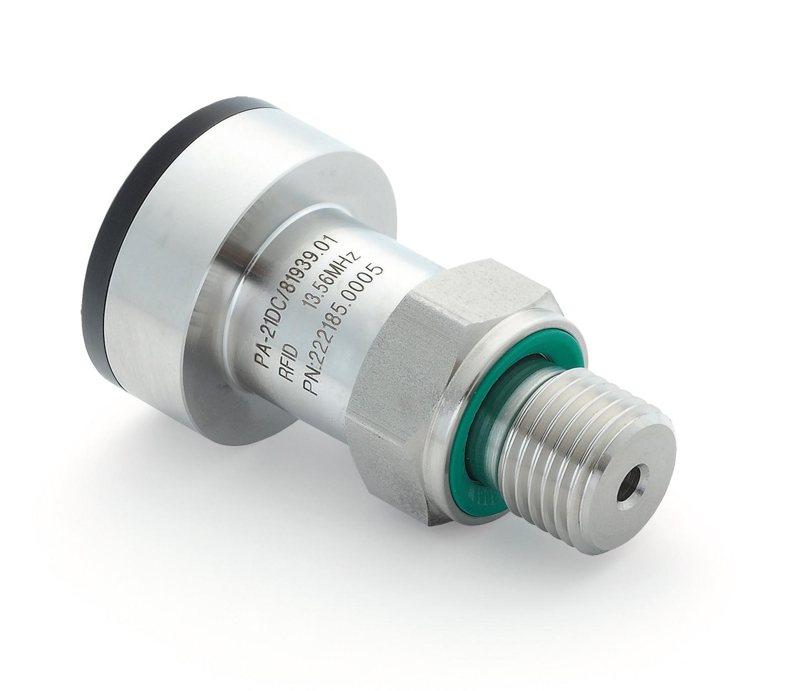 PA21-DC RFID Pressure Data Logger