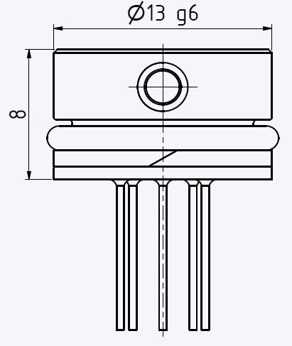 Series 6LHP High Pressure OEM Pressure Transducer